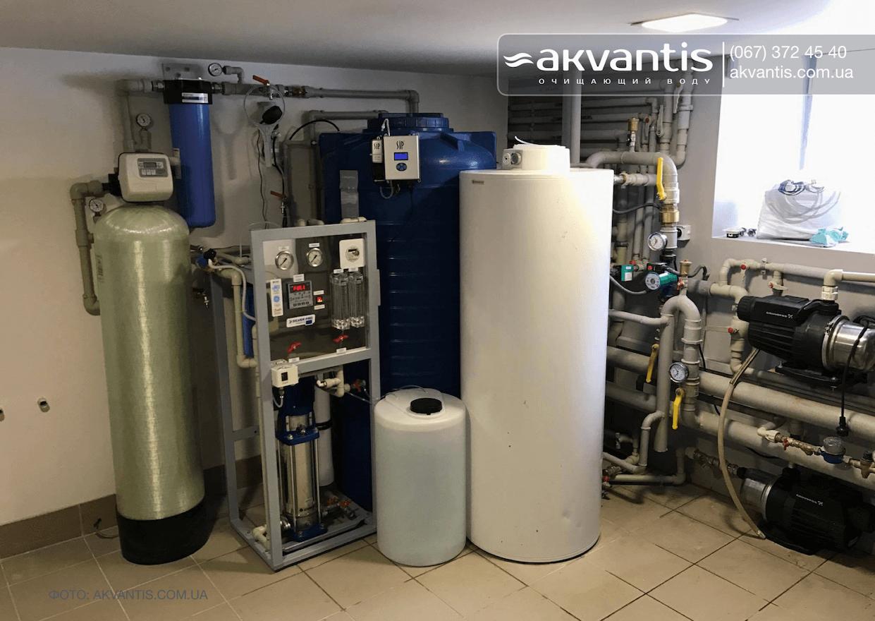 Проект очистки воды в коттедже